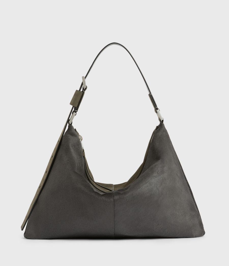 Womens Edbury Leather Shoulder Bag (cinder) - Image 1
