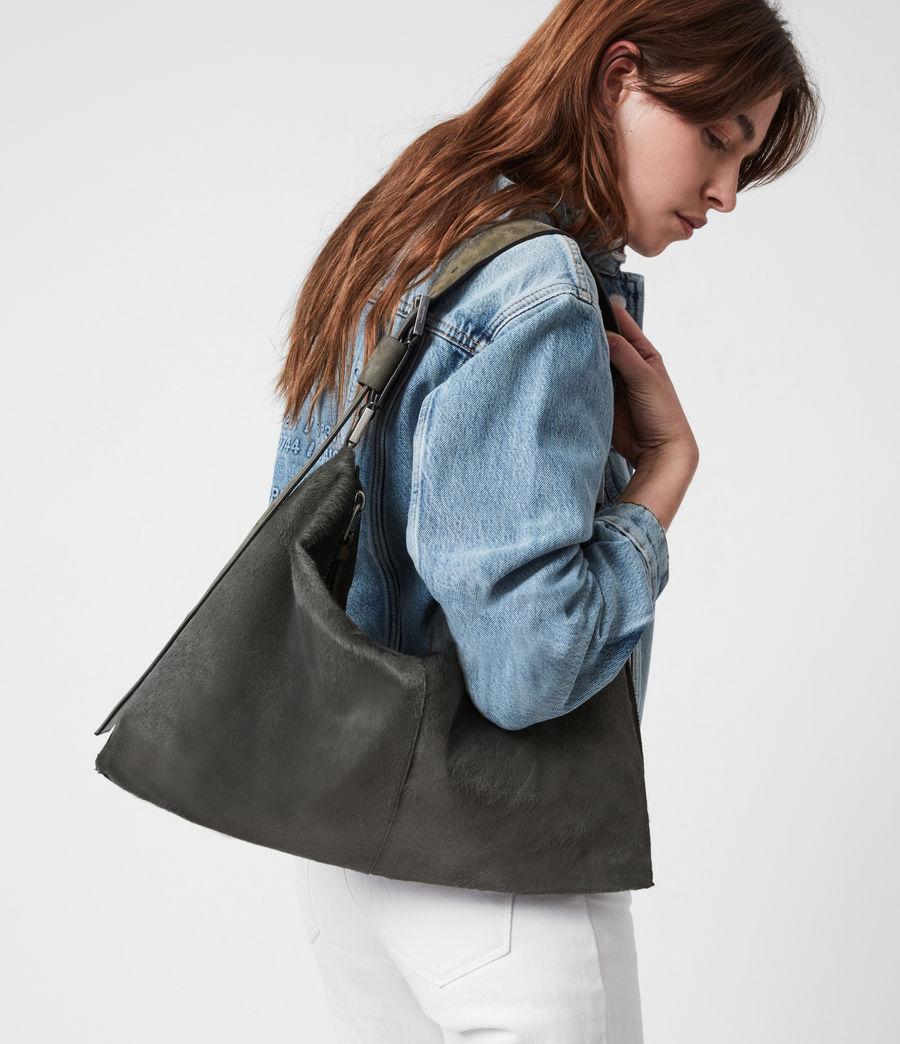 Womens Edbury Leather Shoulder Bag (cinder) - Image 2
