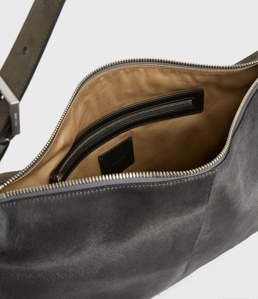Womens Edbury Leather Shoulder Bag (cinder) - Image 3
