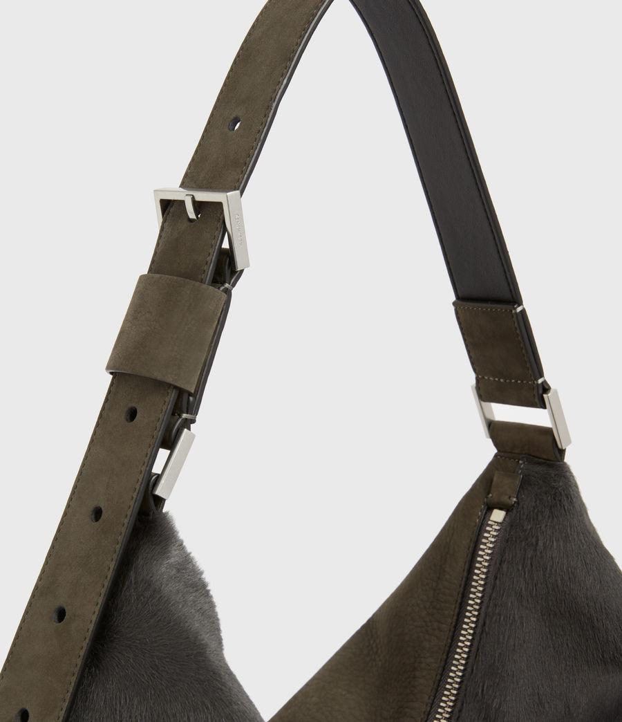 Womens Edbury Leather Shoulder Bag (cinder) - Image 6