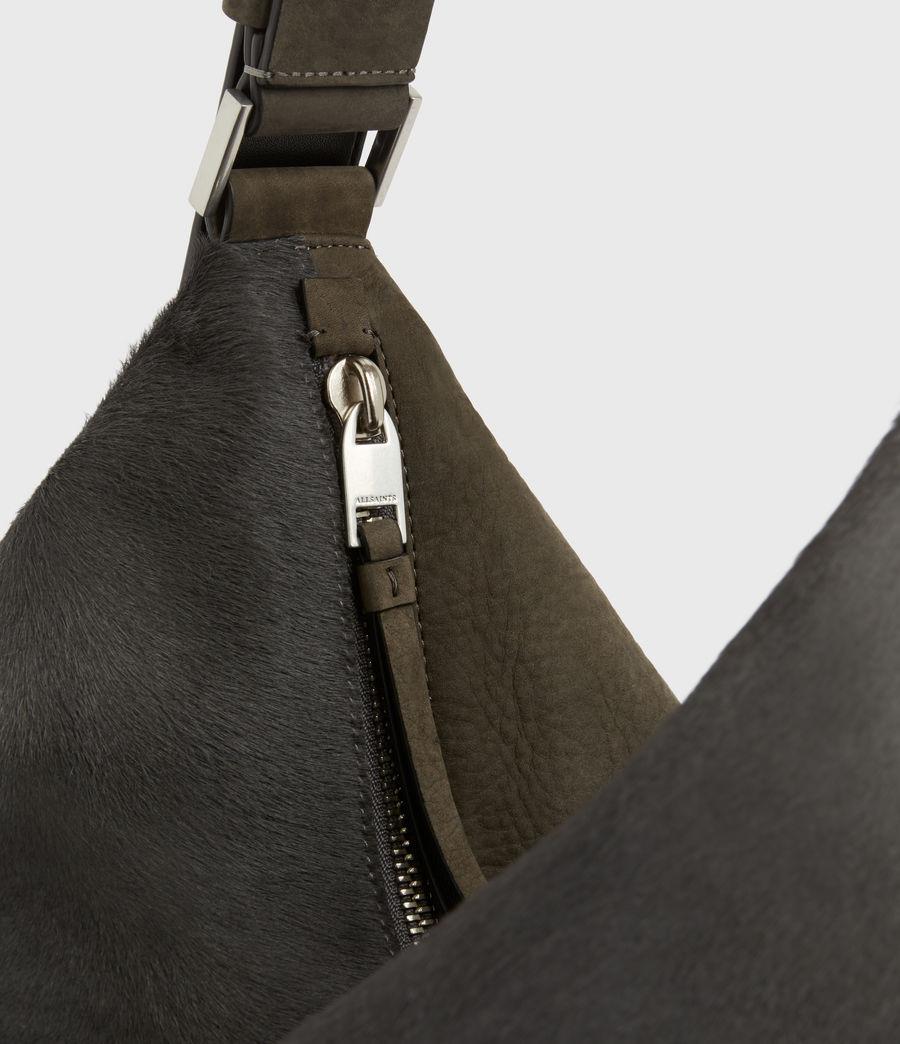 Womens Edbury Leather Shoulder Bag (cinder) - Image 7