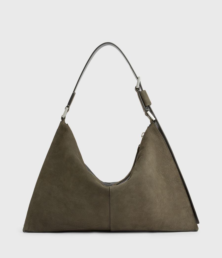Womens Edbury Leather Shoulder Bag (cinder) - Image 8