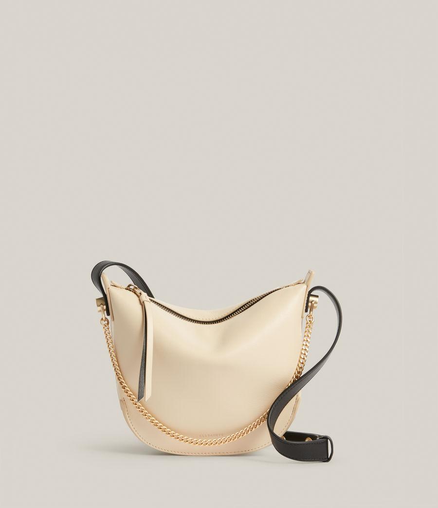 Women's Josephine Leather Crossbody Bag (parchment_white) - Image 2