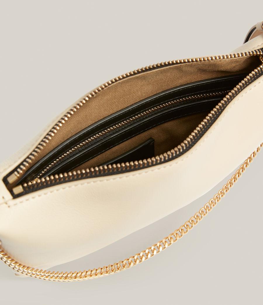 Women's Josephine Leather Crossbody Bag (parchment_white) - Image 3