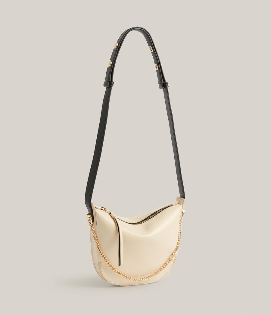 Women's Josephine Leather Crossbody Bag (parchment_white) - Image 4
