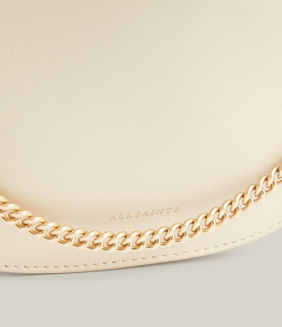 Women's Josephine Leather Crossbody Bag (parchment_white) - Image 5