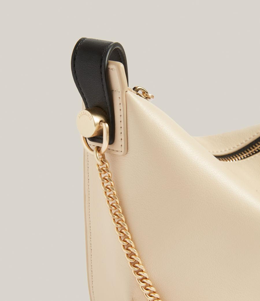 Women's Josephine Leather Crossbody Bag (parchment_white) - Image 6