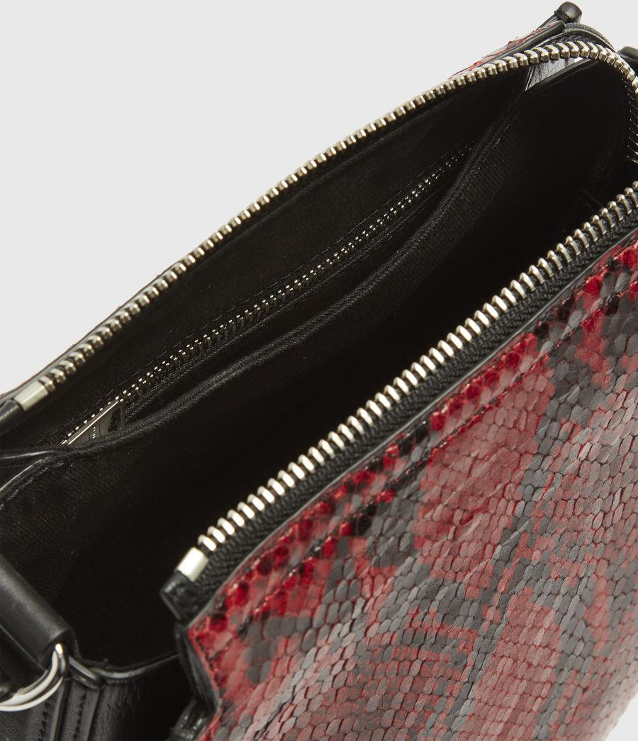 Damen Ely Round Crossbodytasche (red) - Image 4