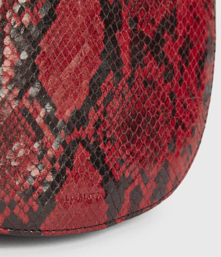 Damen Ely Round Crossbodytasche (red) - Image 5