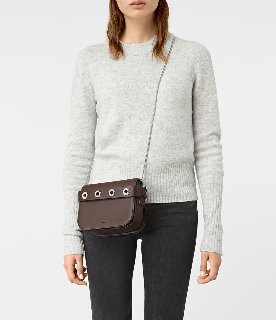Women's Ikuya Clutch (prune) - Image 2