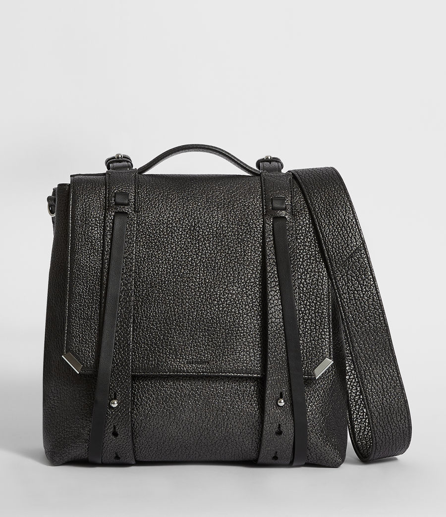 Women's Vincent Leather Backpack (black) - Image 1