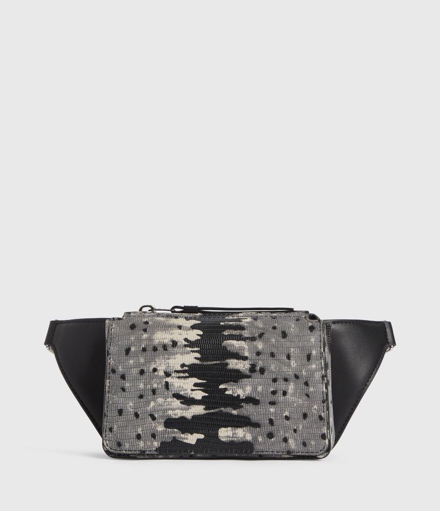 Damen Shilo Leather Bumbag (grey_multi) - Image 1