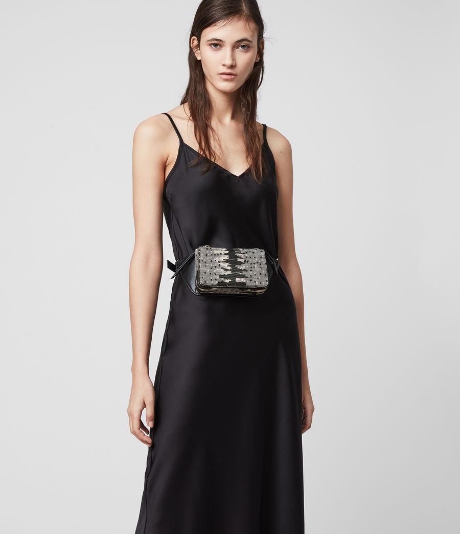 Damen Shilo Leather Bumbag (grey_multi) - Image 2
