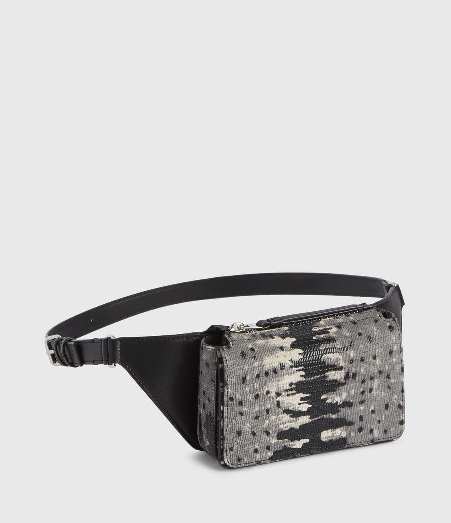Damen Shilo Leather Bumbag (grey_multi) - Image 3