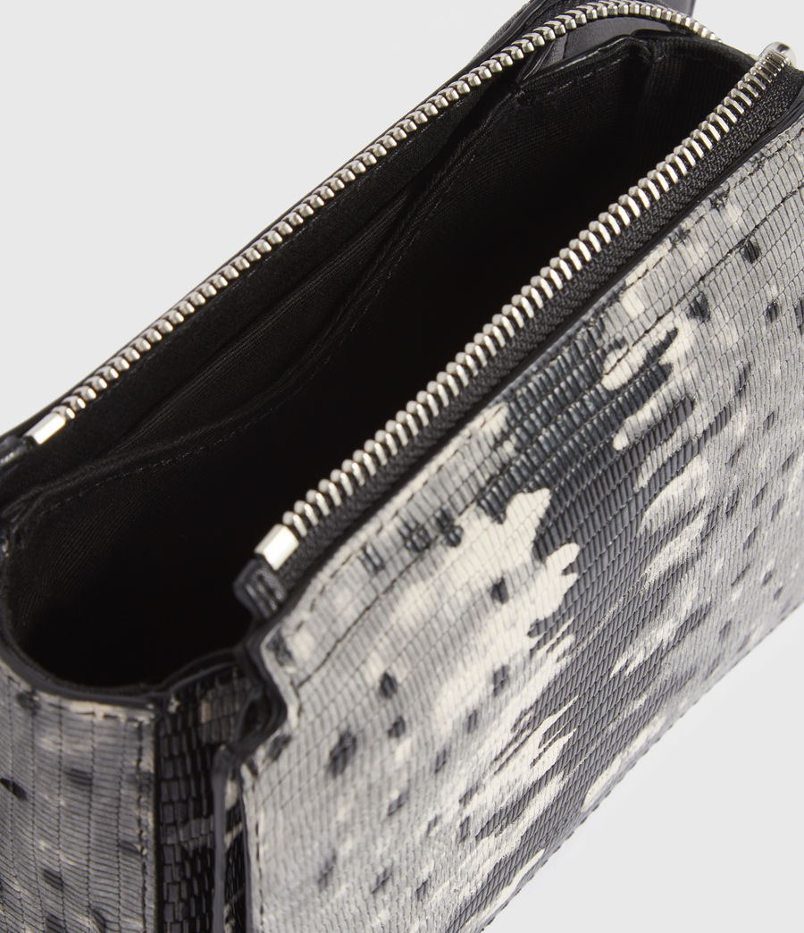 Damen Shilo Leather Bumbag (grey_multi) - Image 4