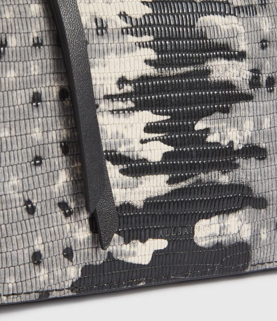 Damen Shilo Leather Bumbag (grey_multi) - Image 5