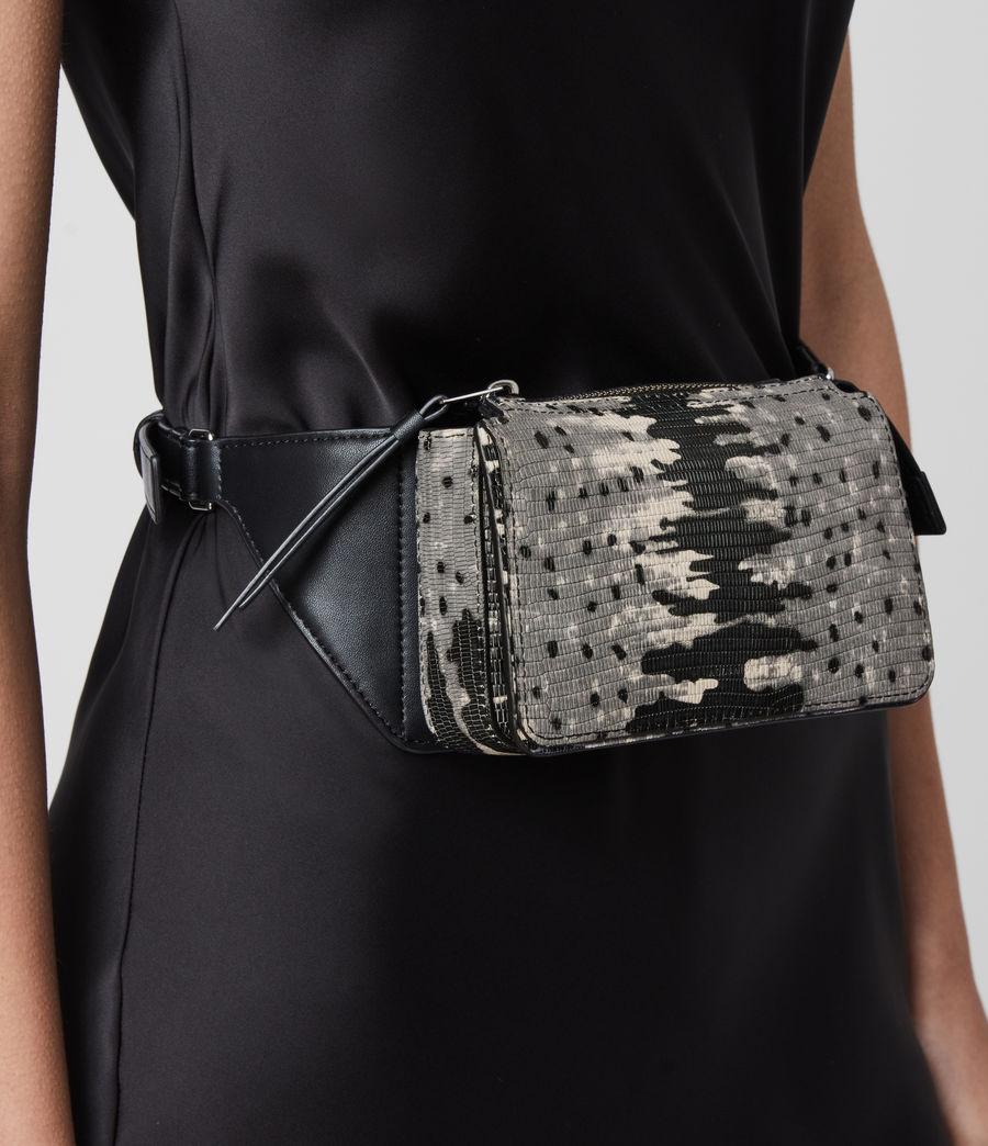 Damen Shilo Leather Bumbag (grey_multi) - Image 7
