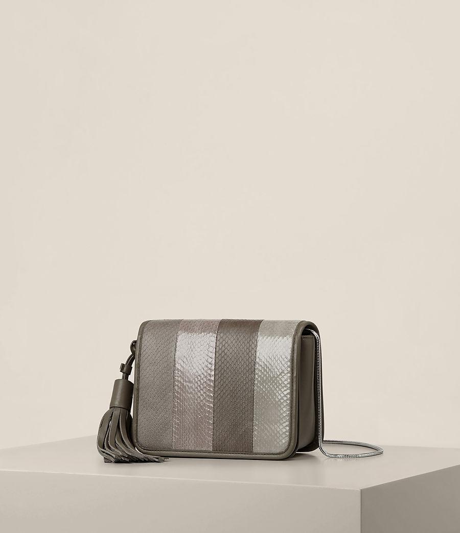 Women's Bansho Snake Shoulder Bag (mink_grey) - Image 2