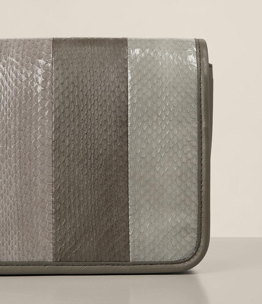 Women's Bansho Snake Shoulder Bag (mink_grey) - Image 3