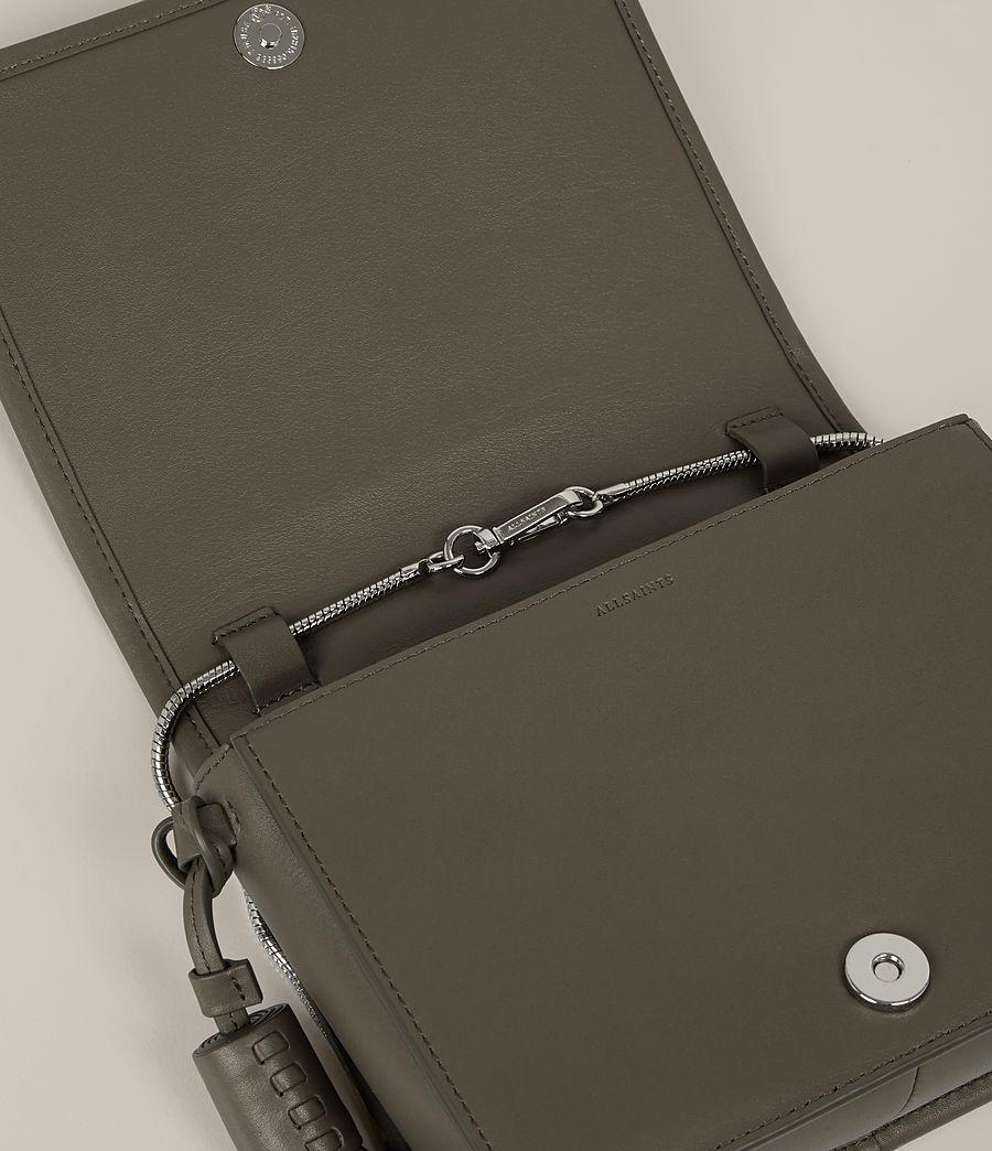Women's Bansho Snake Shoulder Bag (mink_grey) - Image 4