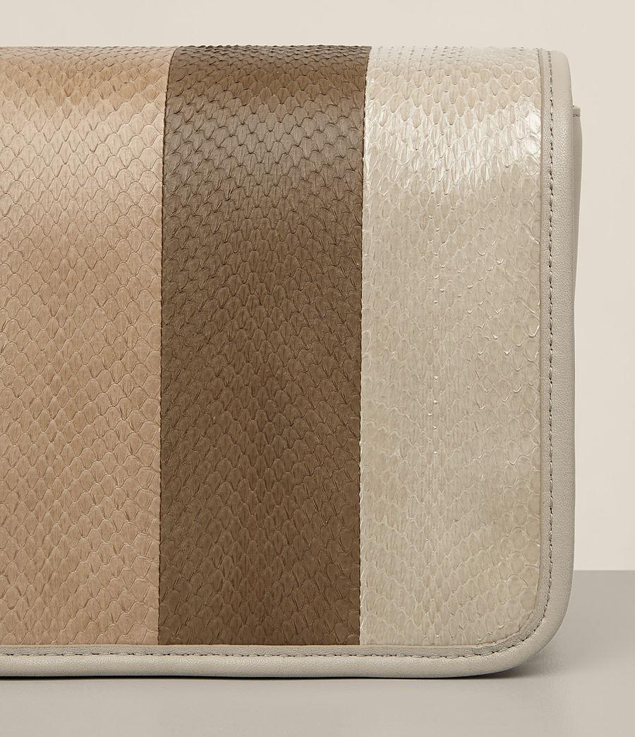 Damen Bansho Snake Schultertasche (beige_stone_white) - Image 2