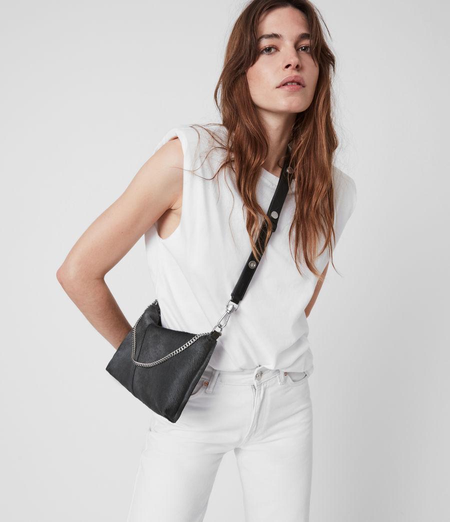 Women's Eve Leather Crossbody Bag (cinder) - Image 1