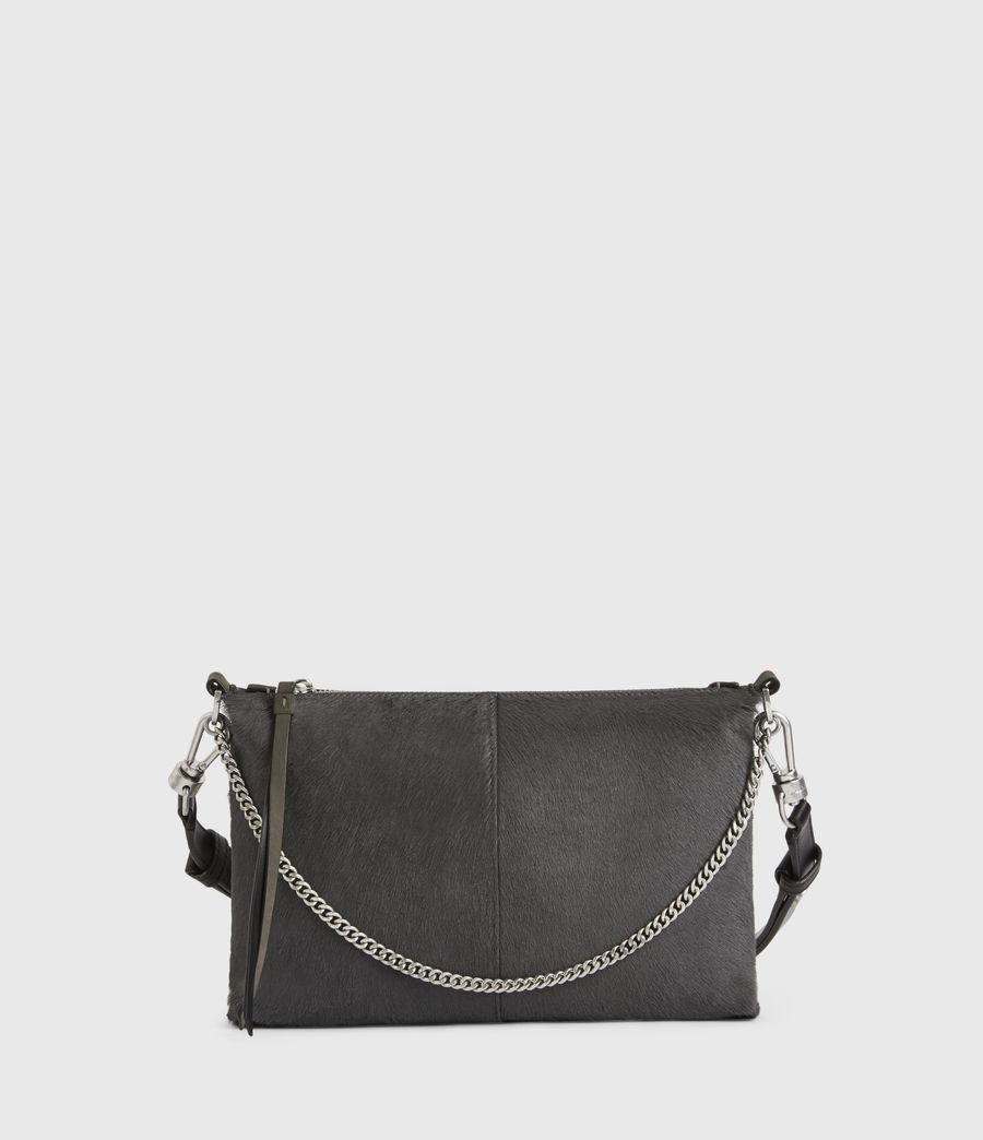 Women's Eve Leather Crossbody Bag (cinder) - Image 2