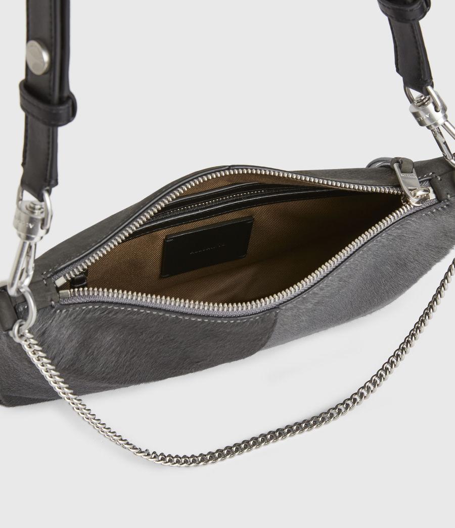 Women's Eve Leather Crossbody Bag (cinder) - Image 3