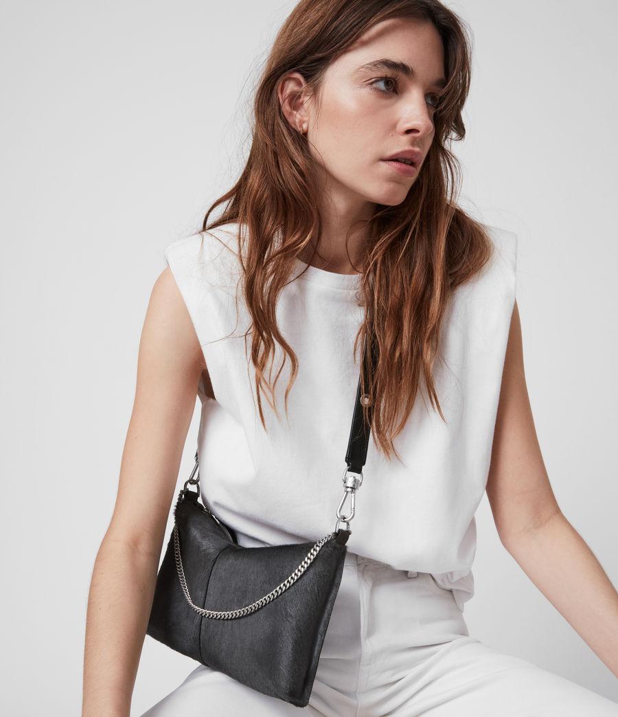Women's Eve Leather Crossbody Bag (cinder) - Image 4