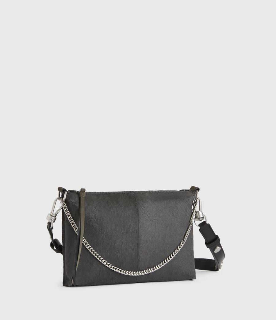 Women's Eve Leather Crossbody Bag (cinder) - Image 5