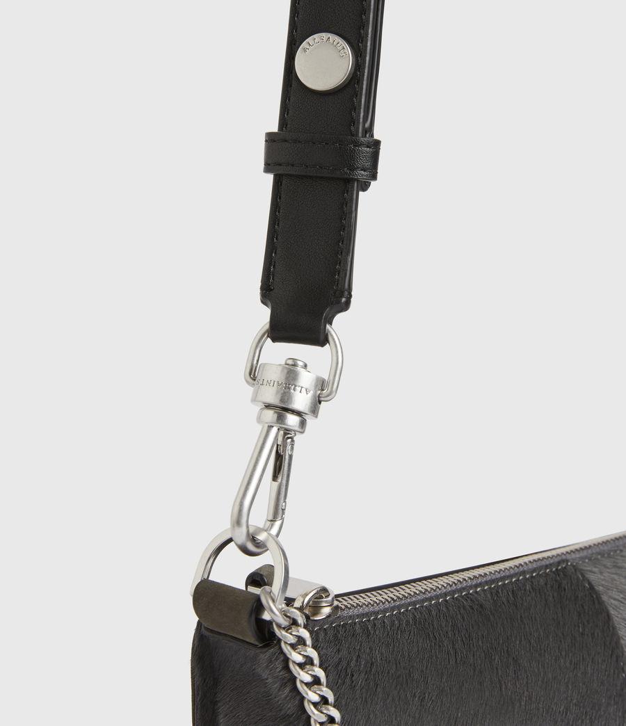 Women's Eve Leather Crossbody Bag (cinder) - Image 6