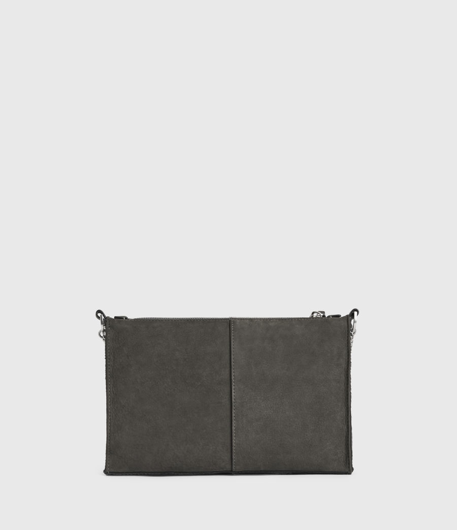 Women's Eve Leather Crossbody Bag (cinder) - Image 8