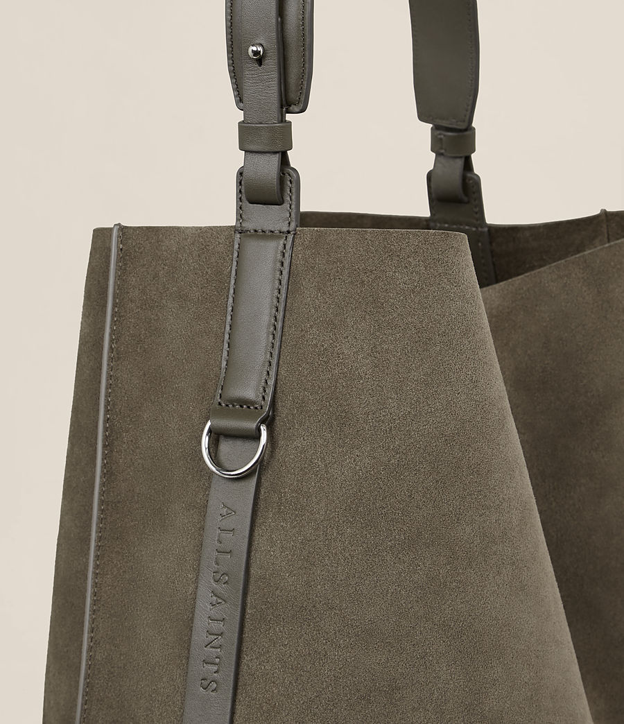 Mujer Paradise North South Tote (mink_grey) - Image 4