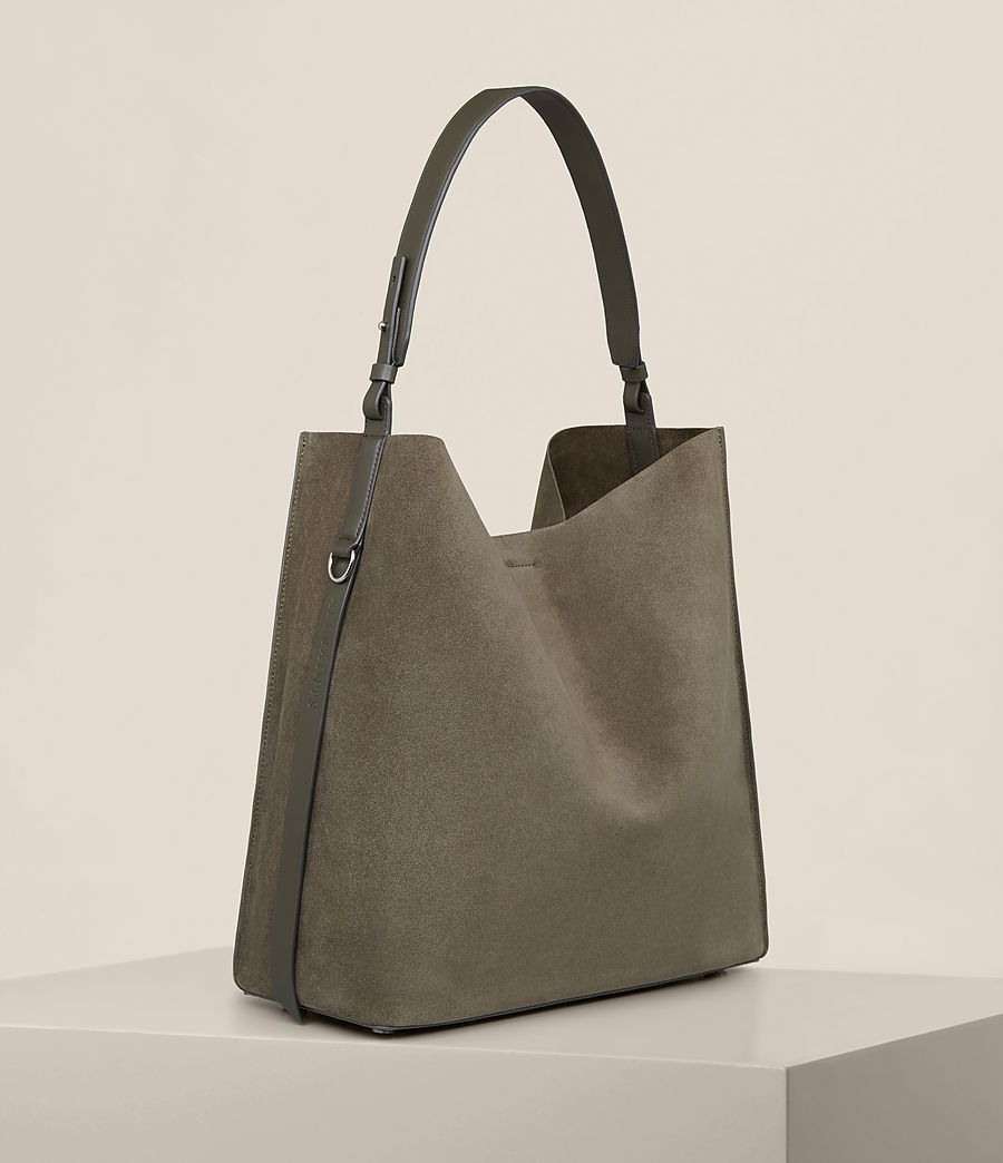 Mujer Paradise North South Tote (mink_grey) - Image 6