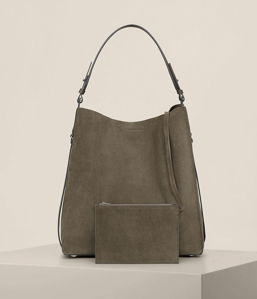 Mujer Paradise North South Tote (mink_grey) - Image 8