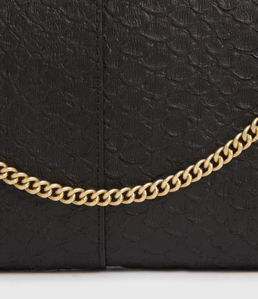 Women's Eve Leather Crossbody Bag (black_python) - Image 7