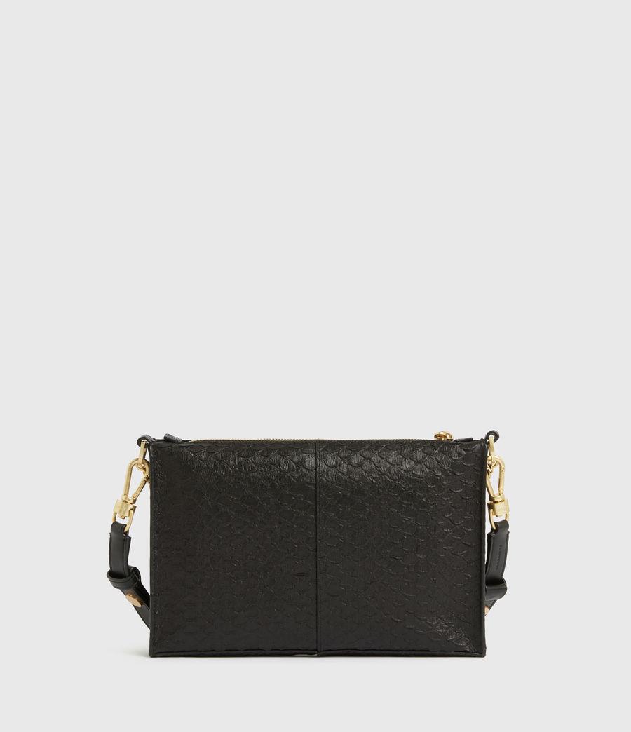 Women's Eve Leather Crossbody Bag (black_python) - Image 8