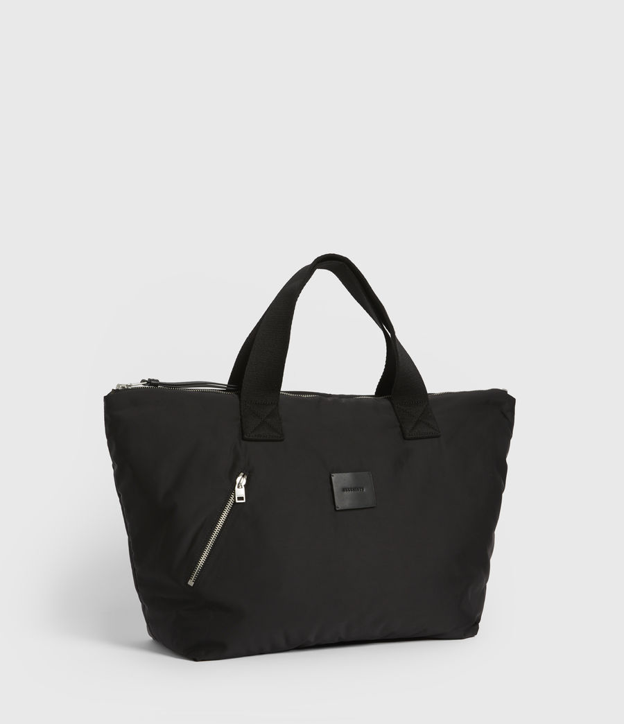 Womens Sly East West Tote Bag (silver) - Image 4