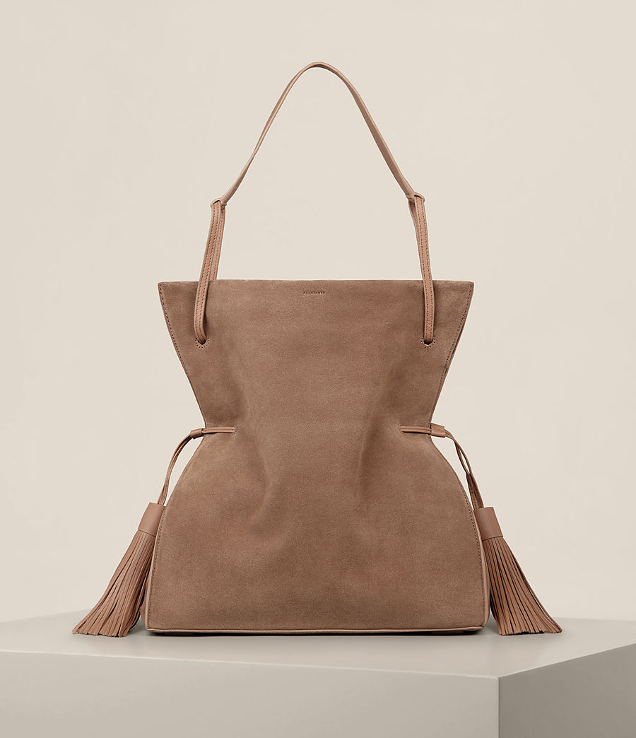 ES Freedom hobo Bolso ALLSAINTS caramel flexible Mujer light zdwqfCf