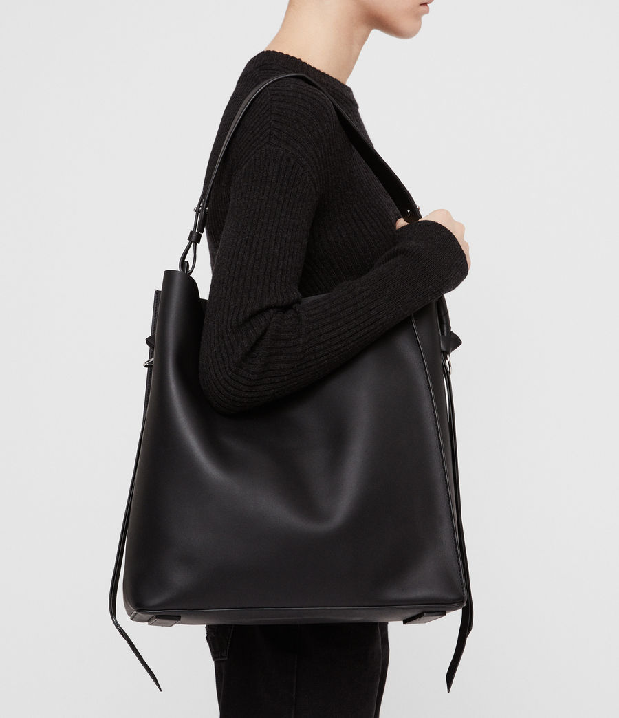 Donne Tote Voltaire North South (black) - Image 2