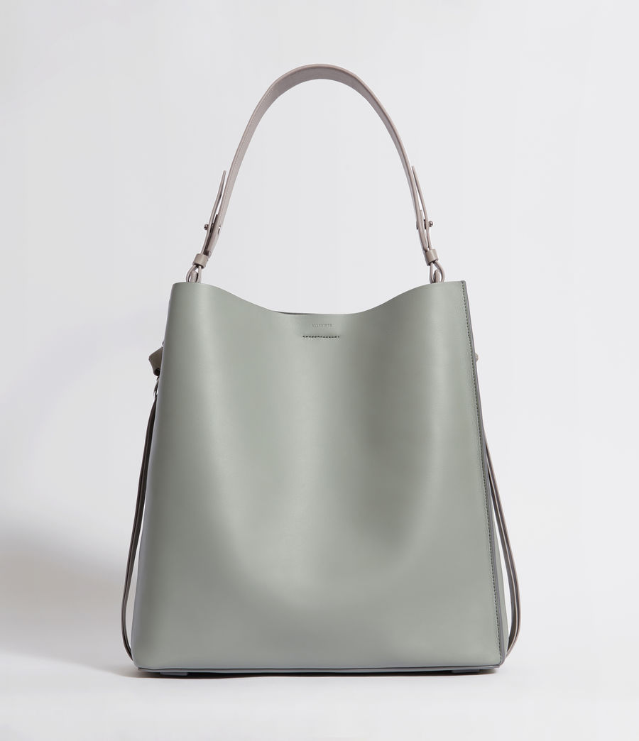 Donne Tote Voltaire North South (blue_grey) - Image 1