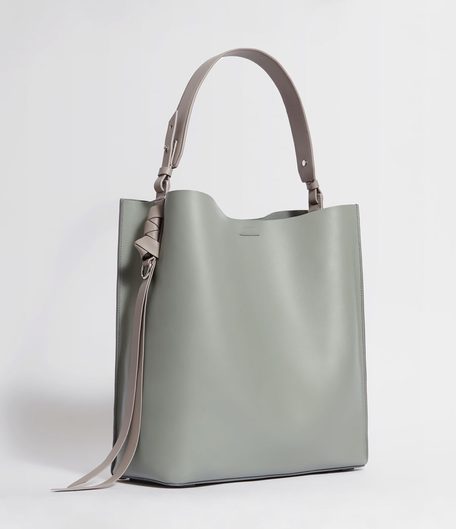 Women's Voltaire Leather North South Tote Bag (luggage_chocolate) - Image 3