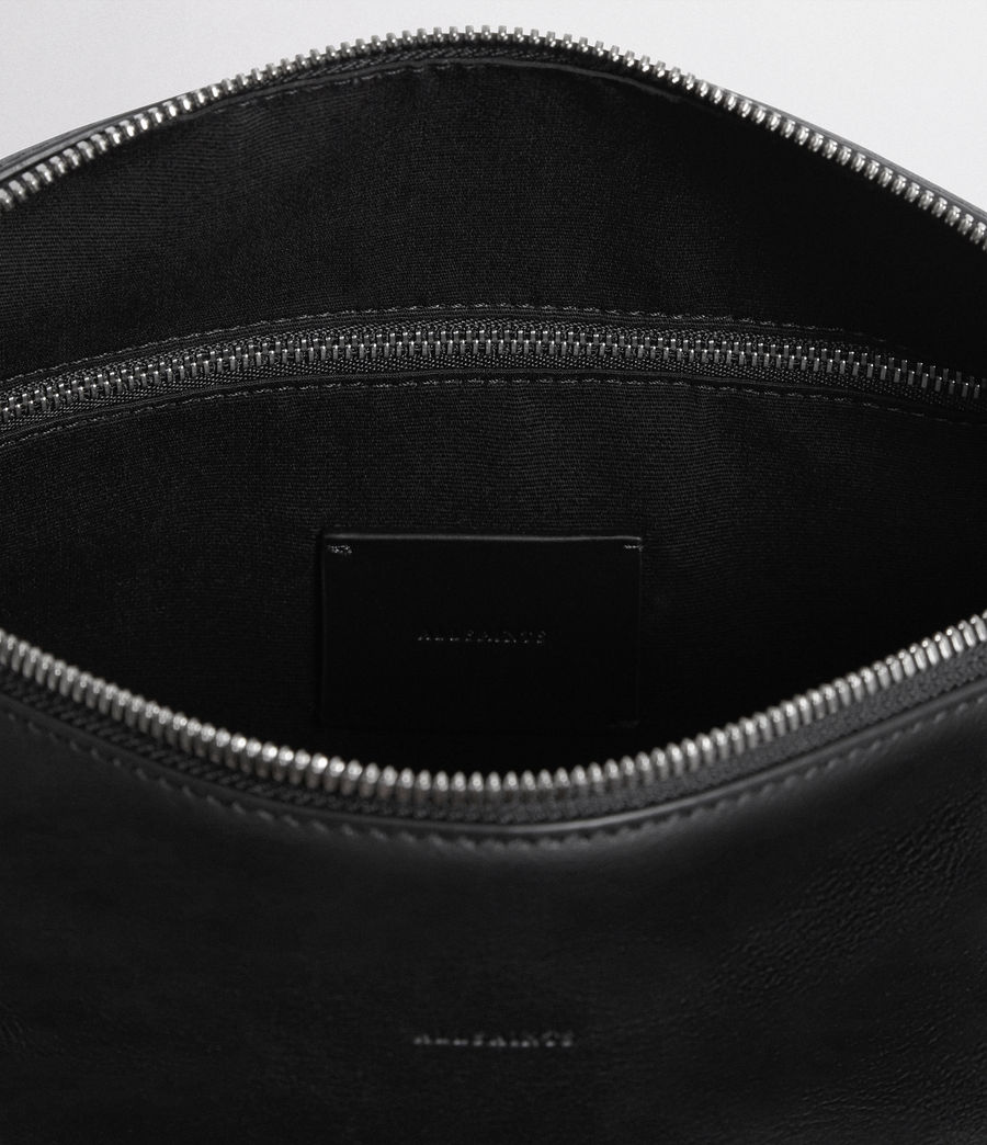 Women's Voltaire Leather Bowling Bag (black) - Image 7