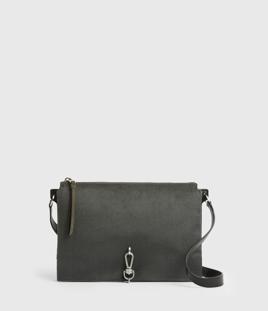 Womens Sheringham Leather Shoulder Bag (cinder) - Image 1