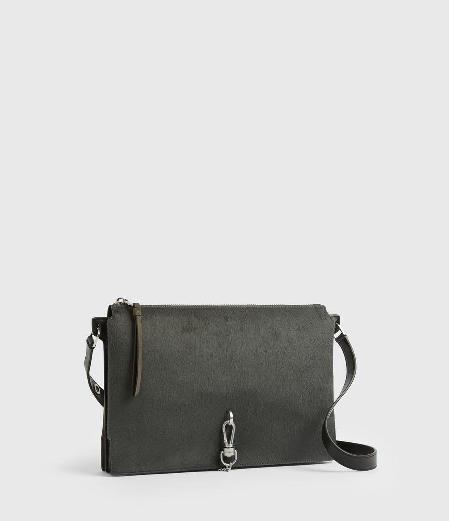 Womens Sheringham Leather Shoulder Bag (cinder) - Image 4