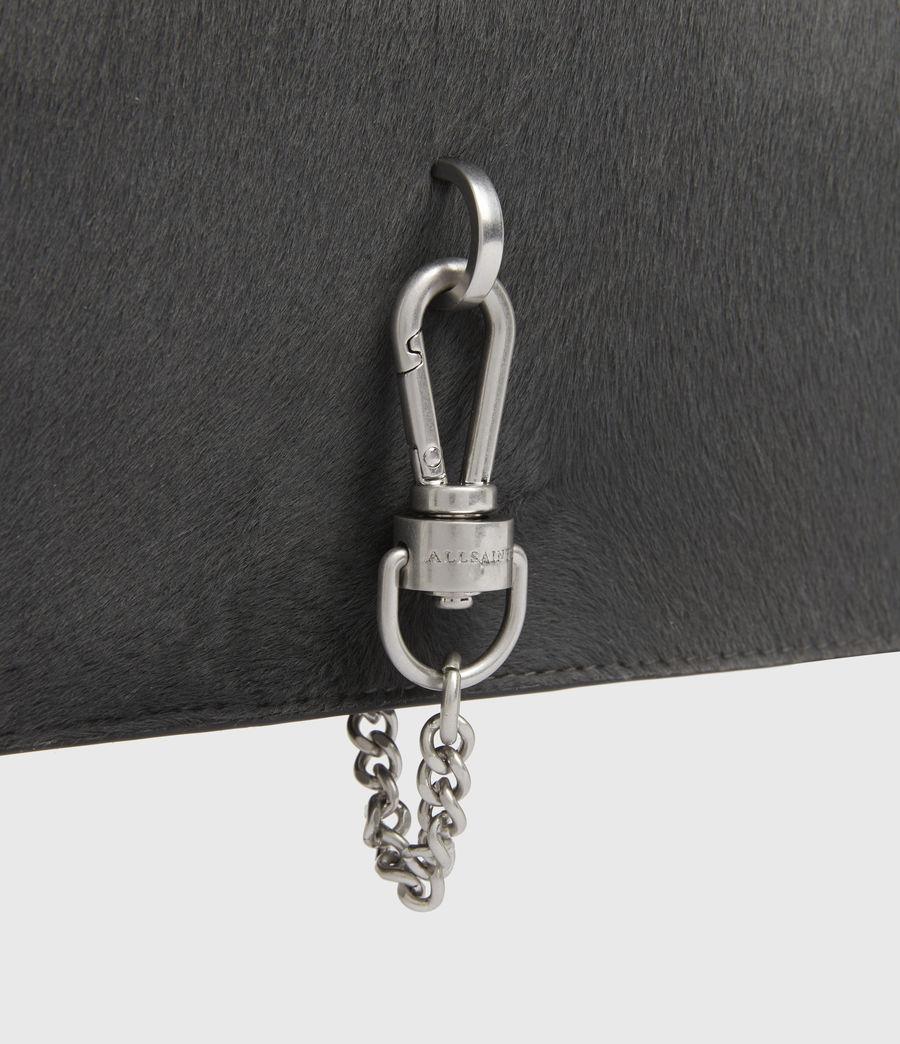 Womens Sheringham Leather Shoulder Bag (cinder) - Image 5