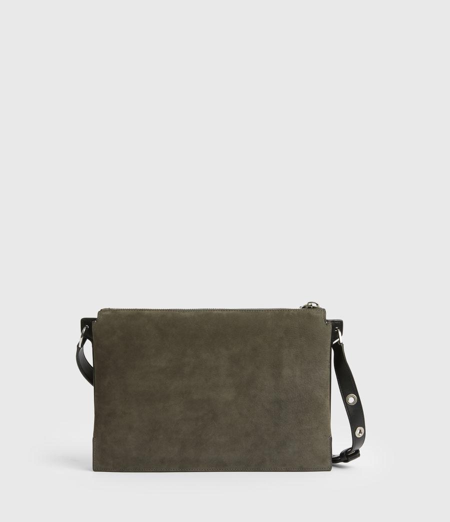 Womens Sheringham Leather Shoulder Bag (cinder) - Image 7