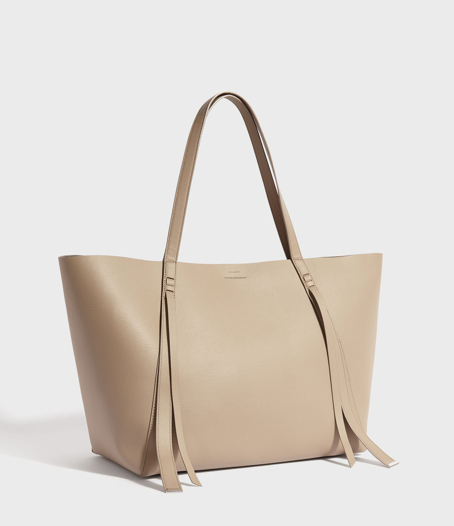 Womens Playa East West Leather Tote Bag (dune) - Image 2