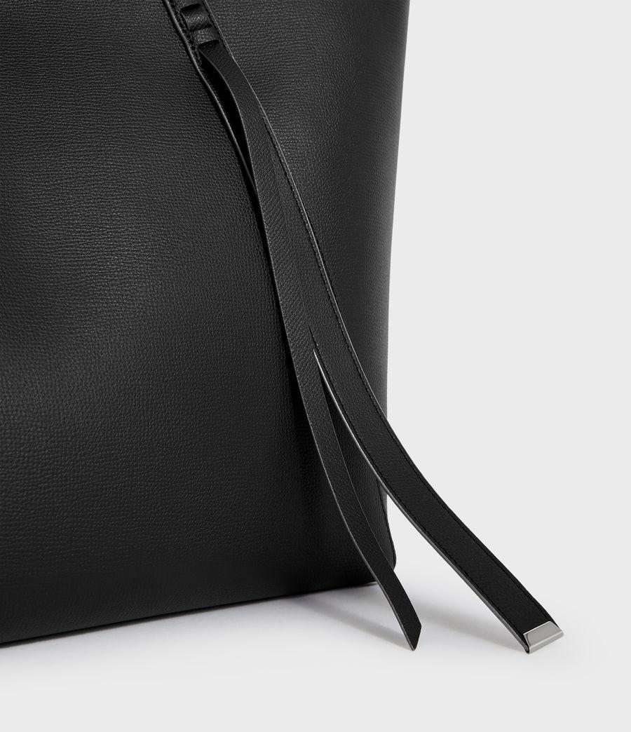 Womens Playa East West Leather Tote Bag (black) - Image 3