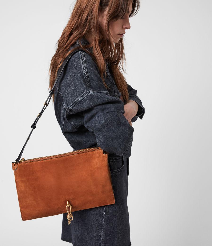 Women's Sheringham Suede Shoulder Bag (desert) - Image 1